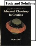 Apologia Advanced Chemistry Student Text