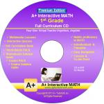 A+ Tutor 1st Grade Math Premium