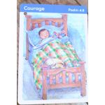 Bible flash cards Front sample
