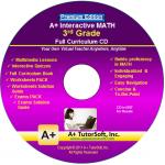A+ Tutor 3rd Grade Math Premium