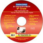 A+ Tutor 6th Grade Math Premium