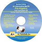 A+ Tutor Pre Algebra Math Standard