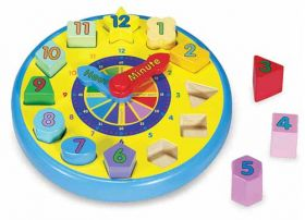 Shape Sorter Clock