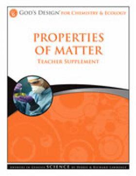 Properties of Matter Teachers