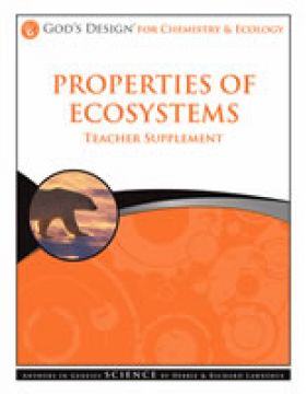 Properties of Ecosystems Teachers