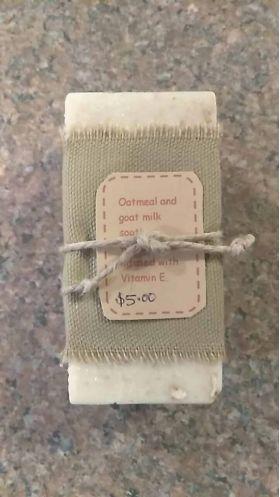 Honeyed Oatmeal Goatmilk Soap